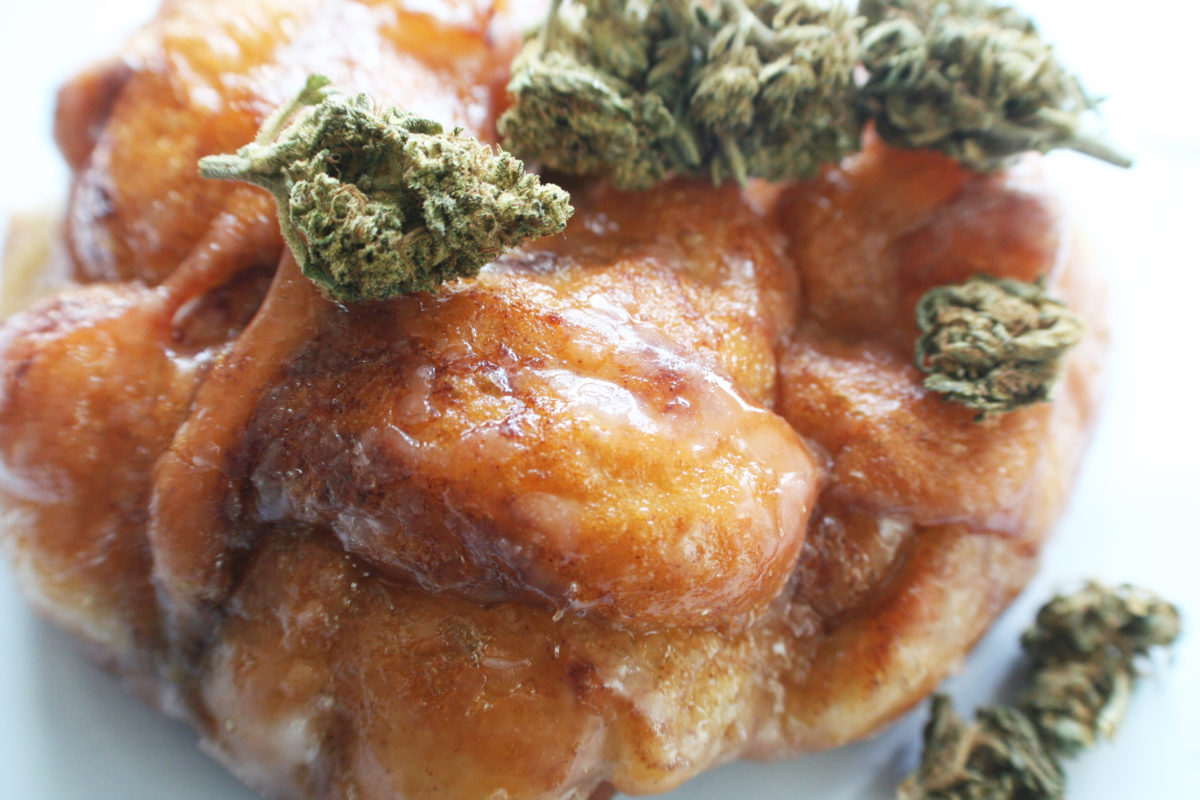 Glazed Marijuana Edible