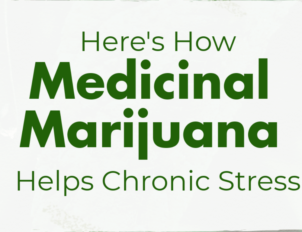 Medical Marijuana Helps Chronic Stress
