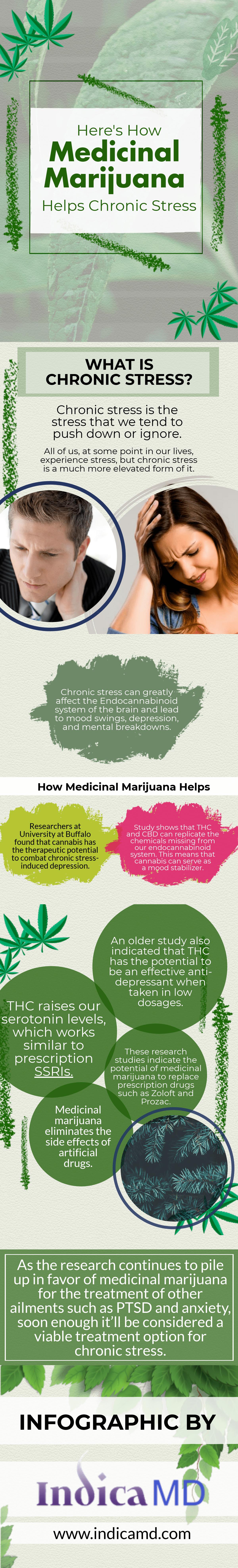Medical Marijuana Helps Chronic Stress