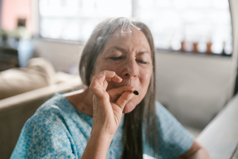Old-woman-smoking-medicinal-marijuana